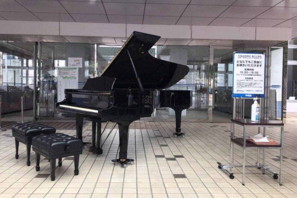 ヤマハのフルコンサートグランドピアノCF3